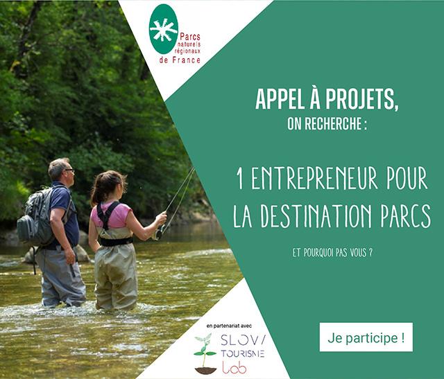Appel a projet Destination Parcs naturels régionaux de France