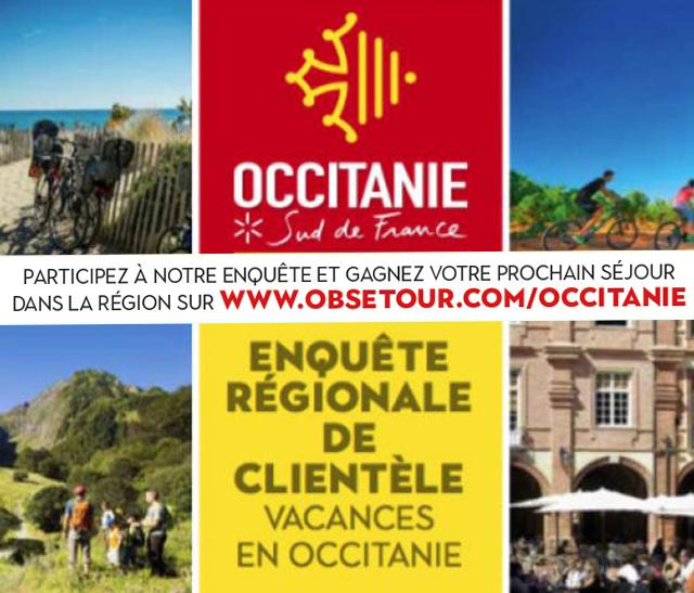 Sondage Clientèle Touristique Région Occitanie
