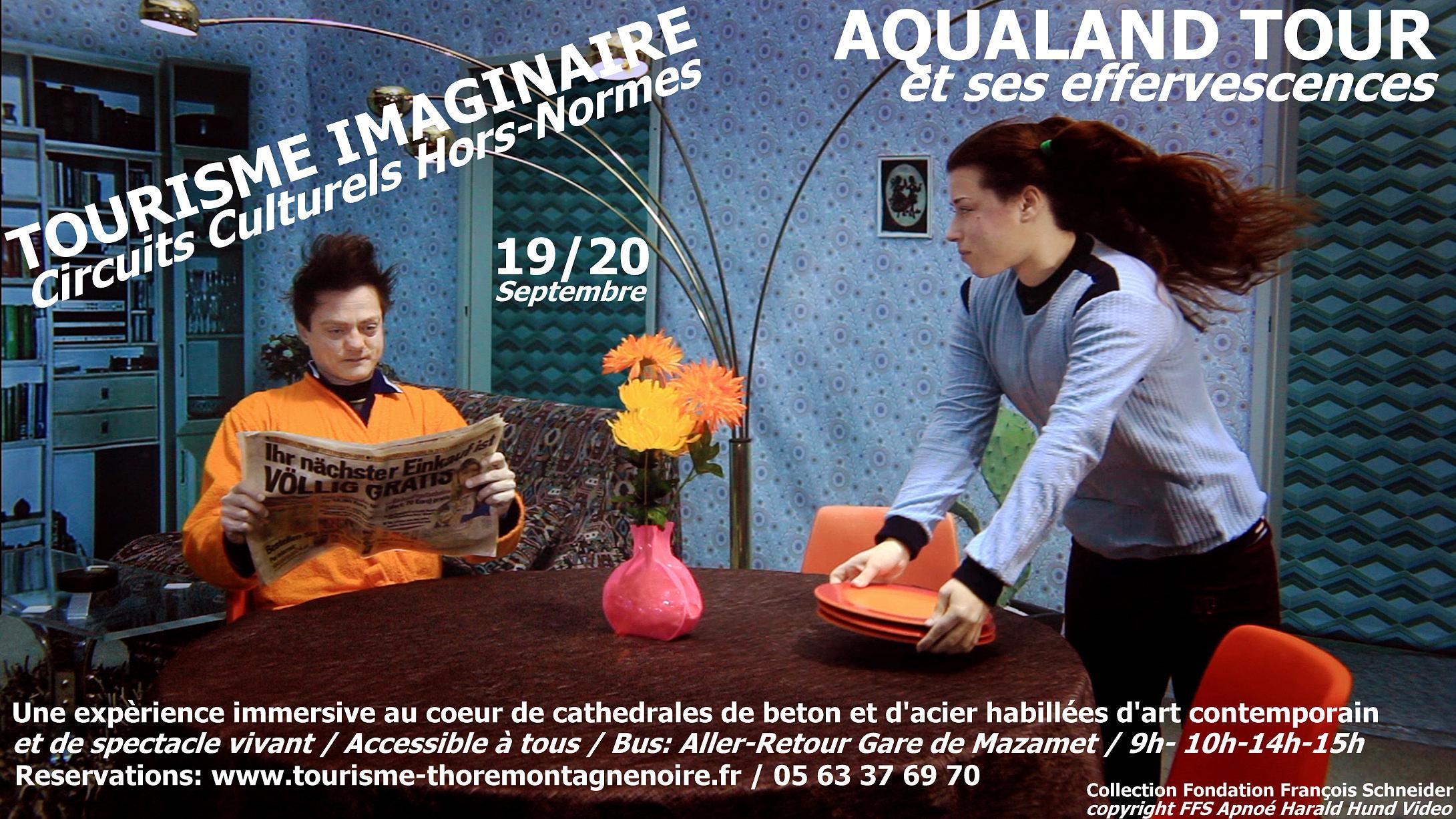 affiche tourisme imaginaire Septembre 2020