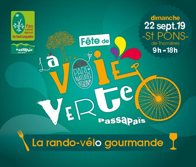 Vignette Fête de la Voie Verte Passa Pais 2019 organisée par le Parc naturel régional du Haut-Languedoc