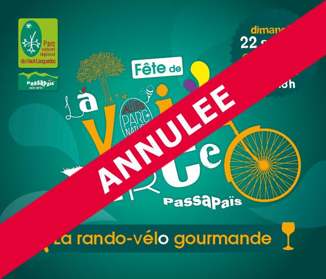 Vignette Annulation de la Fête de la Voie Verte Passa Pais 2019 organisée par le Parc naturel régional du Haut-Languedoc
