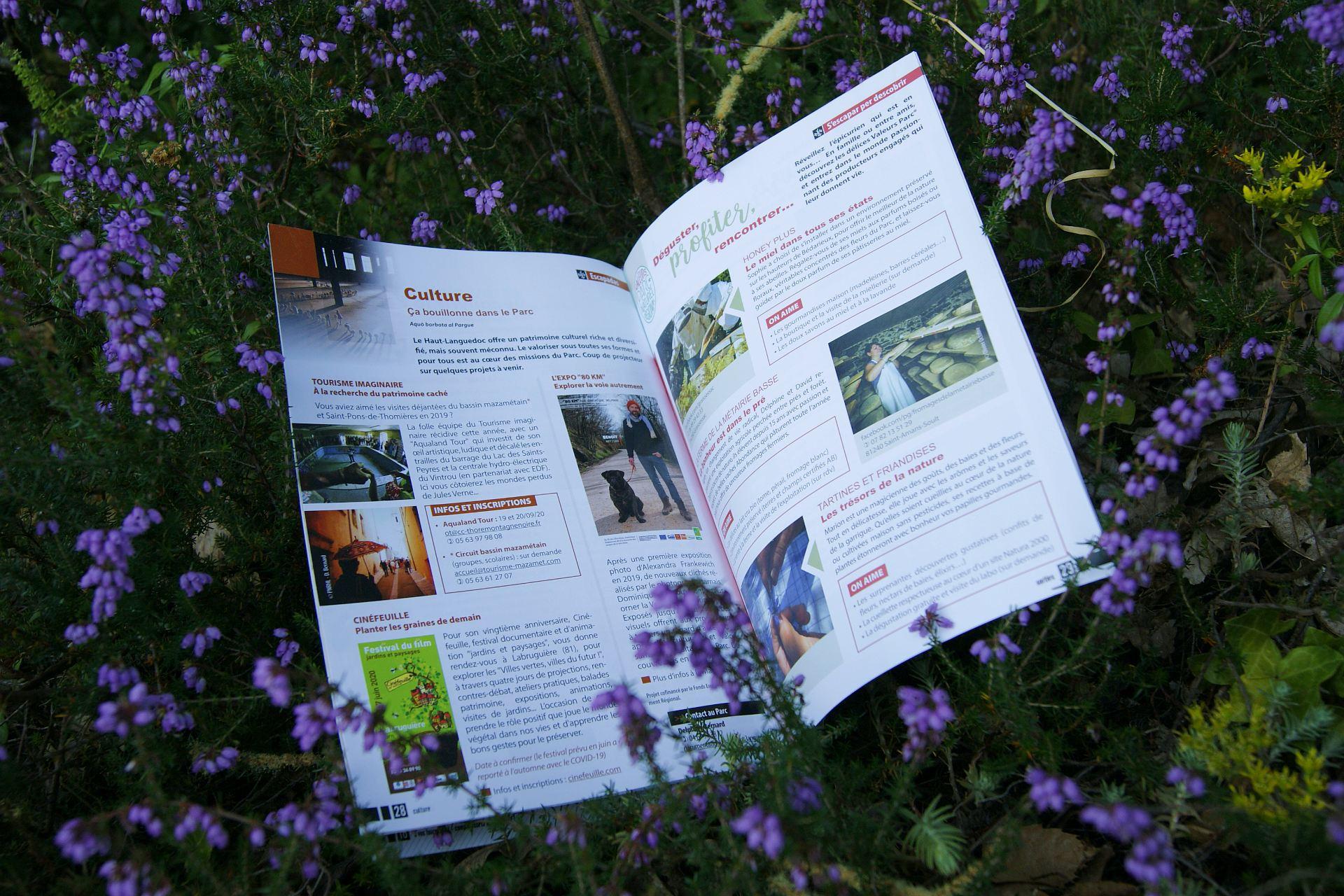 Journal du Parc naturel régional du Haut-Languedoc - Culture