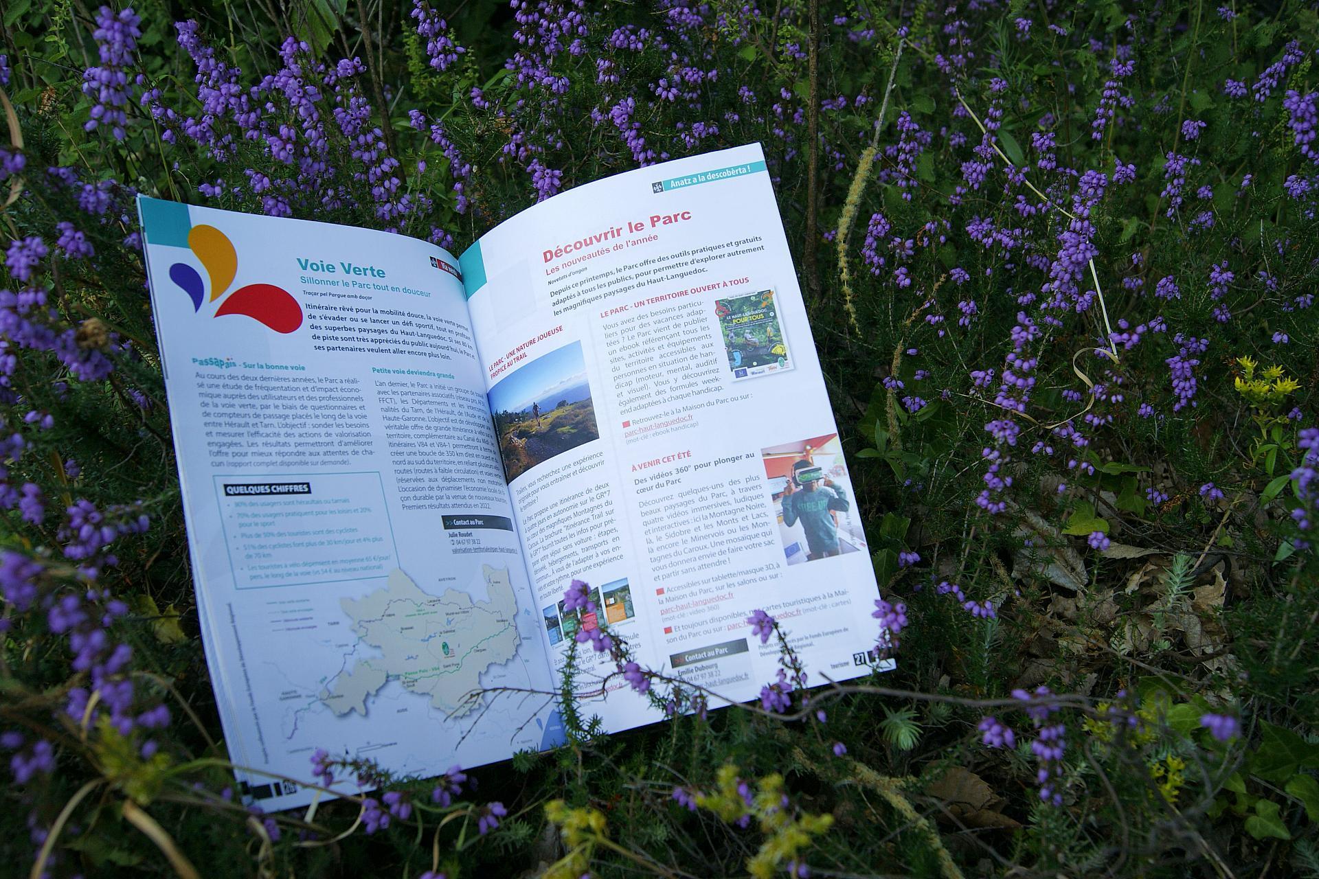 Journal du Parc naturel régional du Haut-Languedoc - Tourisme