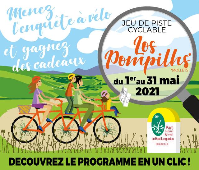 Vignette Jeu de Piste Los Pompilhs organisé par le Parc naturel régional du Haut-Languedoc