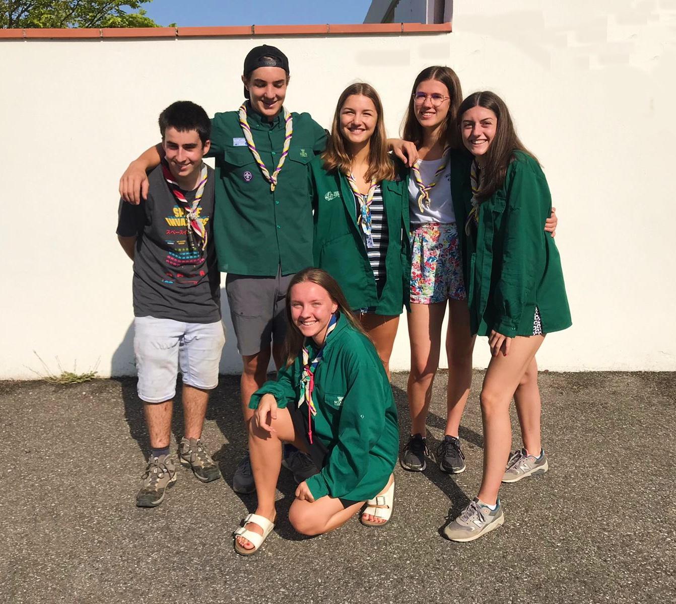 Six scouts bénévoles pour préserver l'environnement du Parc naturel du Haut Languedoc