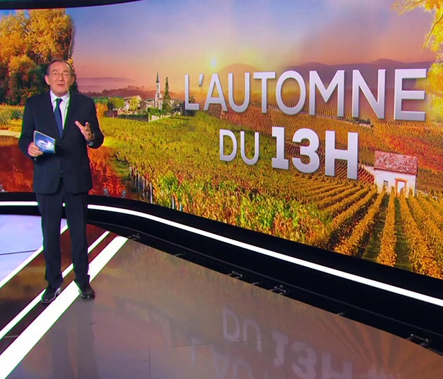 Le Parc naturel régional du Haut-Languedoc à l'honneur sur le JT de TF1