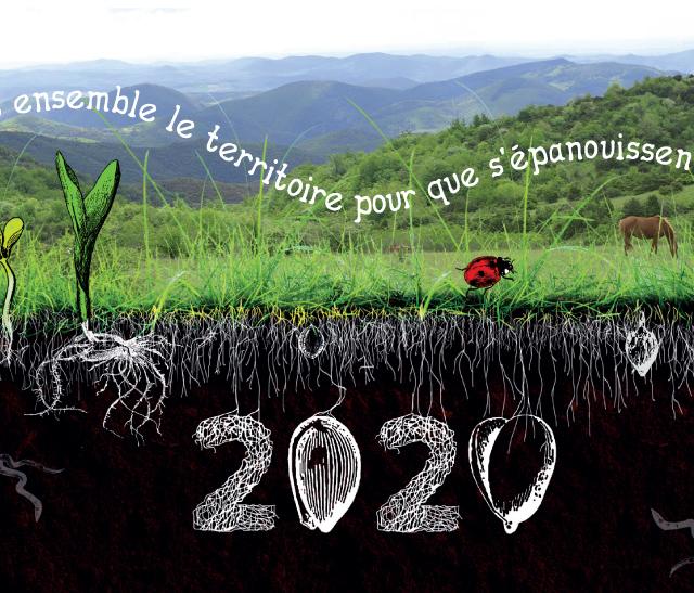 Vignette Meilleurs Voeux pour l'année 2020 de toute l'équipe du Parc naturel régional du Haut-Languedoc