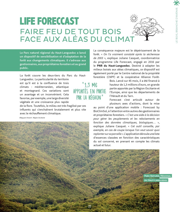 Magazine Occigène des sept parcs naturels régionaux d'Occitanie