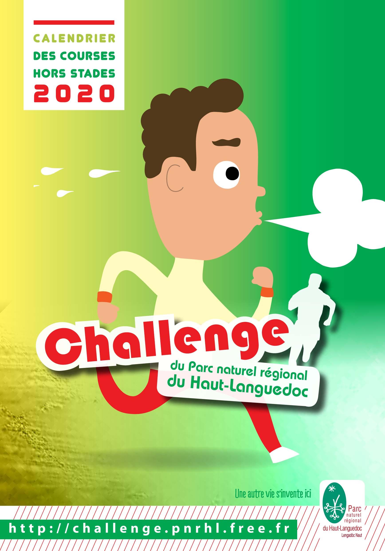 Challenge des courses 2020 Couverture