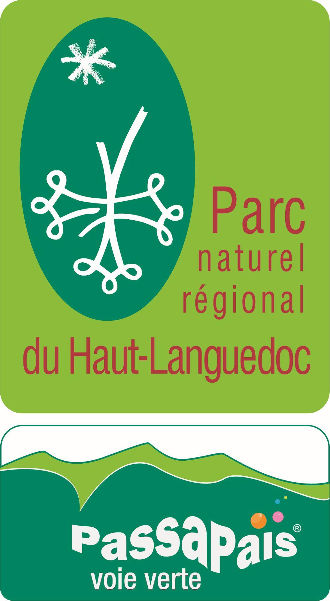 Logo Voie Verte  du Parc naturel régional du Haut-Languedoc