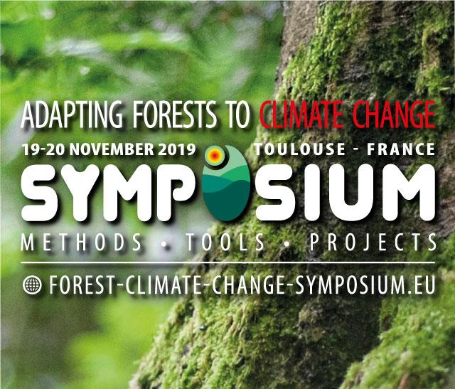"""Vignette du Symposium européen """"Adaptation des forêts aux changements climatiques"""" organisé par le projet LIFE FORECCAsT du pnr Haut-Languedoc"""