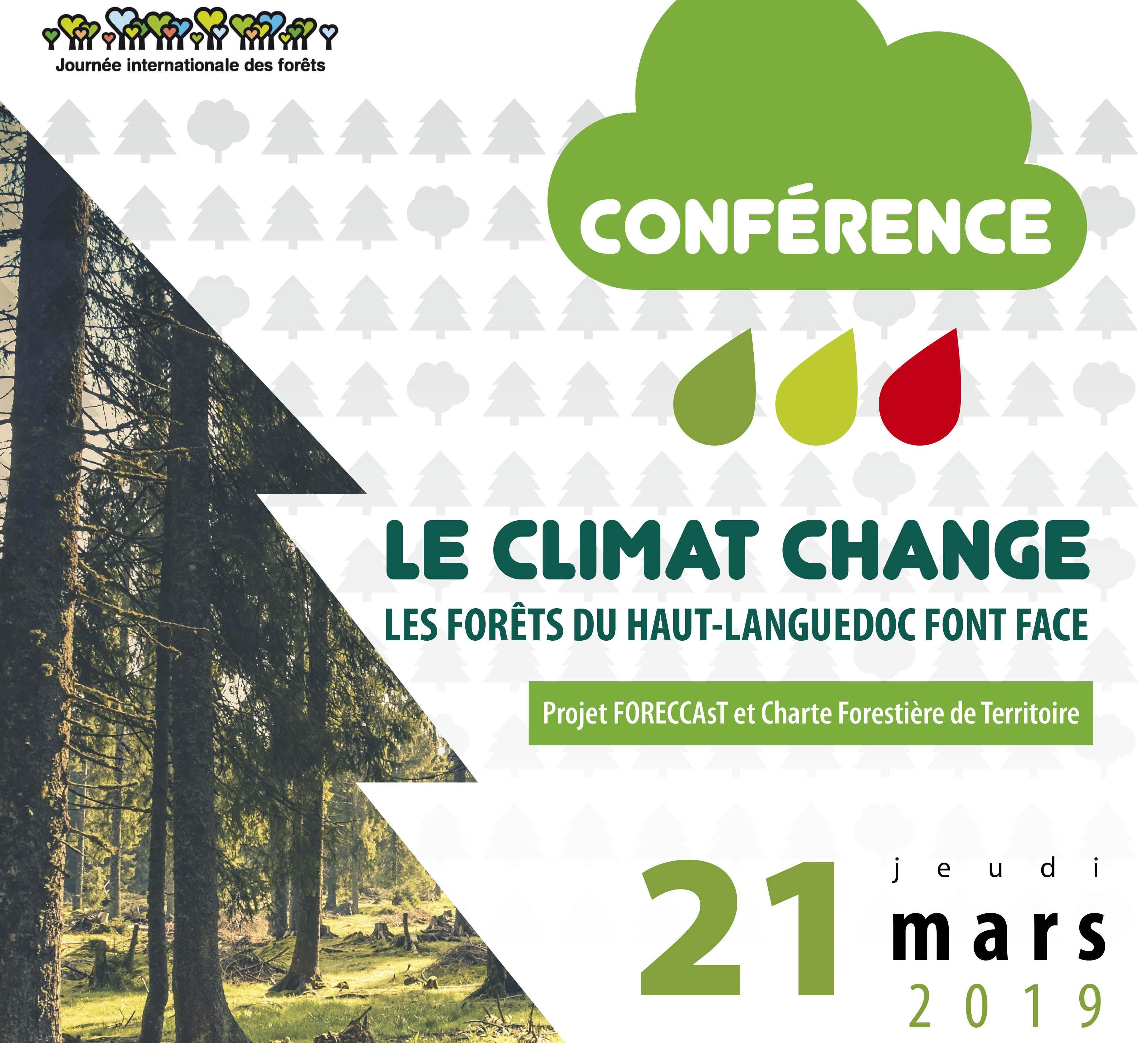 Vignette de la Conférence sur les Forêts pour Journée internationale des Forêts Pnr Haut-Languedoc