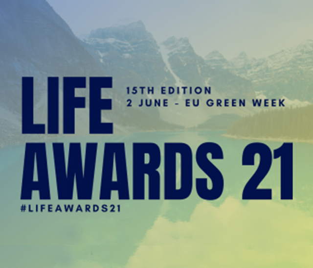 Vignette des LIFE Awards 2021