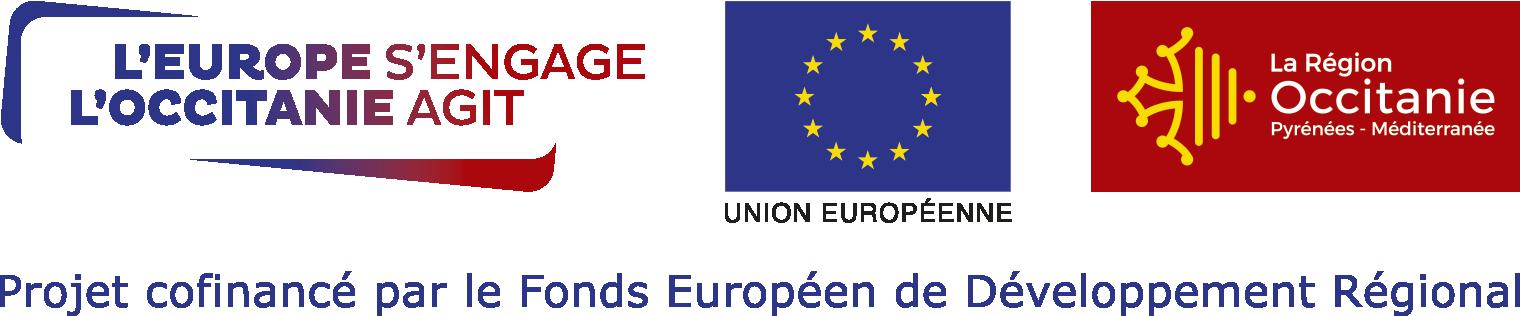 Bandeau Logos Europe et Region Occitanie