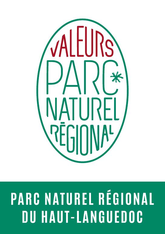Logo Valeurs Parc naturel régional® du Haut-Languedoc