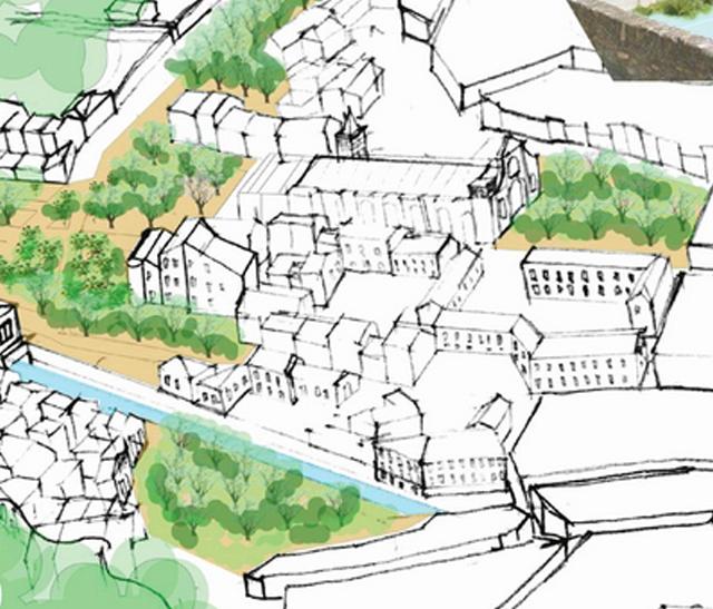 Vignette des Ateliers d'Urbanisme Durable de Saint Pons de Thomières, organisés par le Pnr Haut-Languedoc