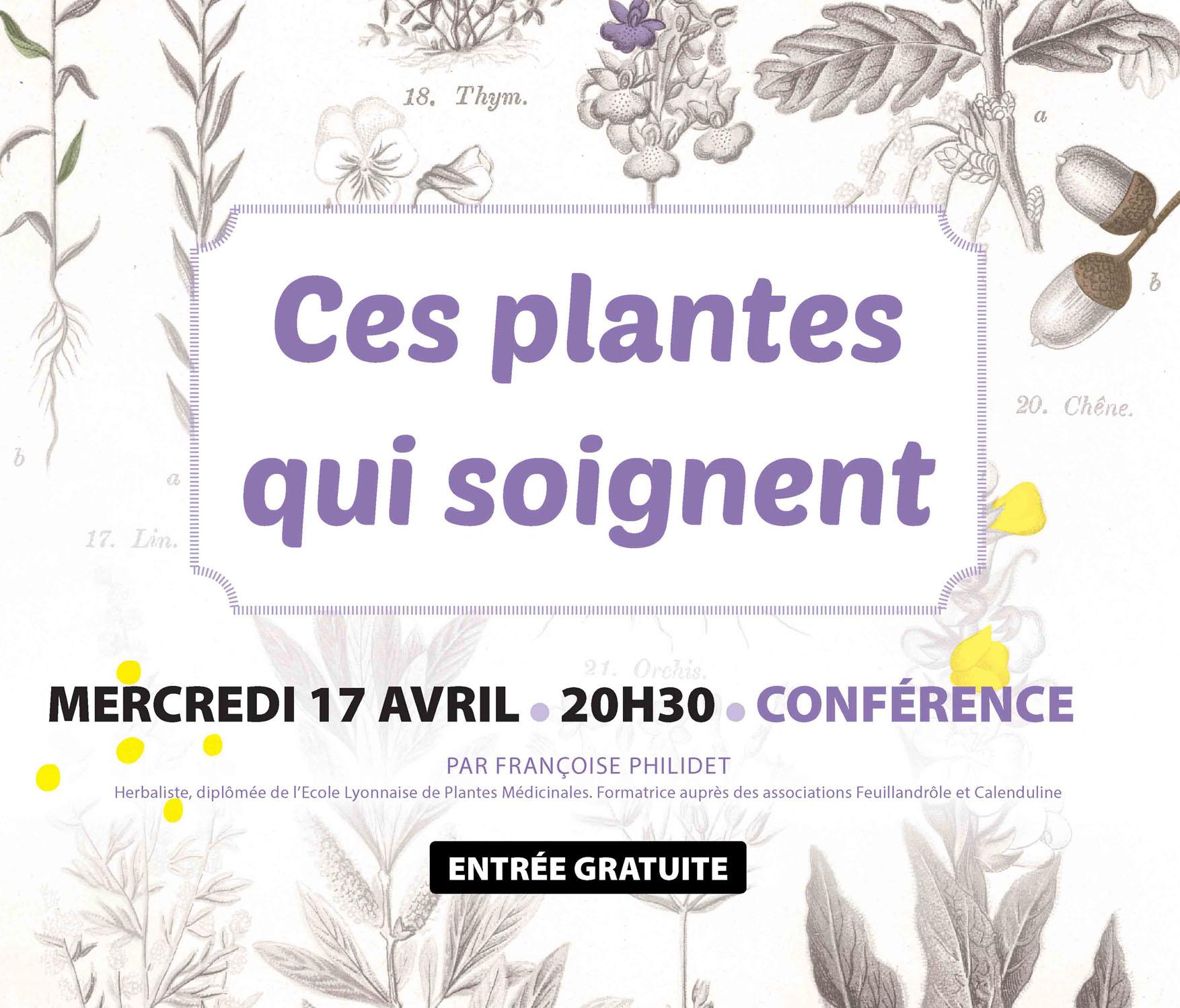 Vignette de la Conférence sur les plantes qui soignent à Biot (81) organisée par le Pnr Haut-Languedoc