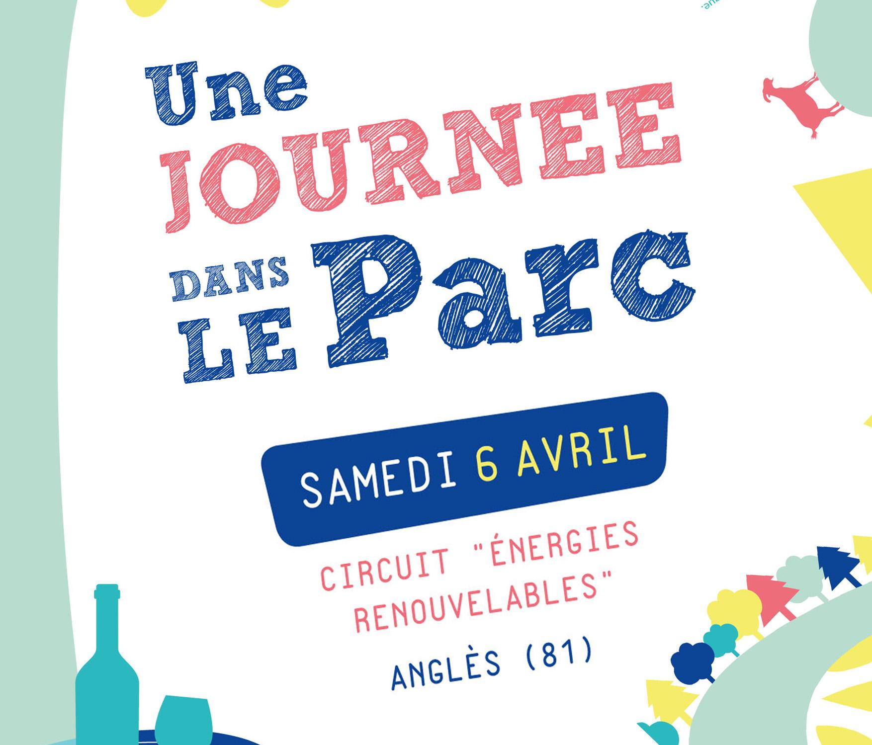 Vignette Une Journée dans le Parc - Circuit Energies renouvelables à Anglès (81) organisé par le Pnr Haut-Languedoc
