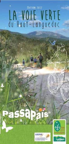Image du Carnet découverte de la Voie verte du Parc naturel régional du HAut-Languedoc