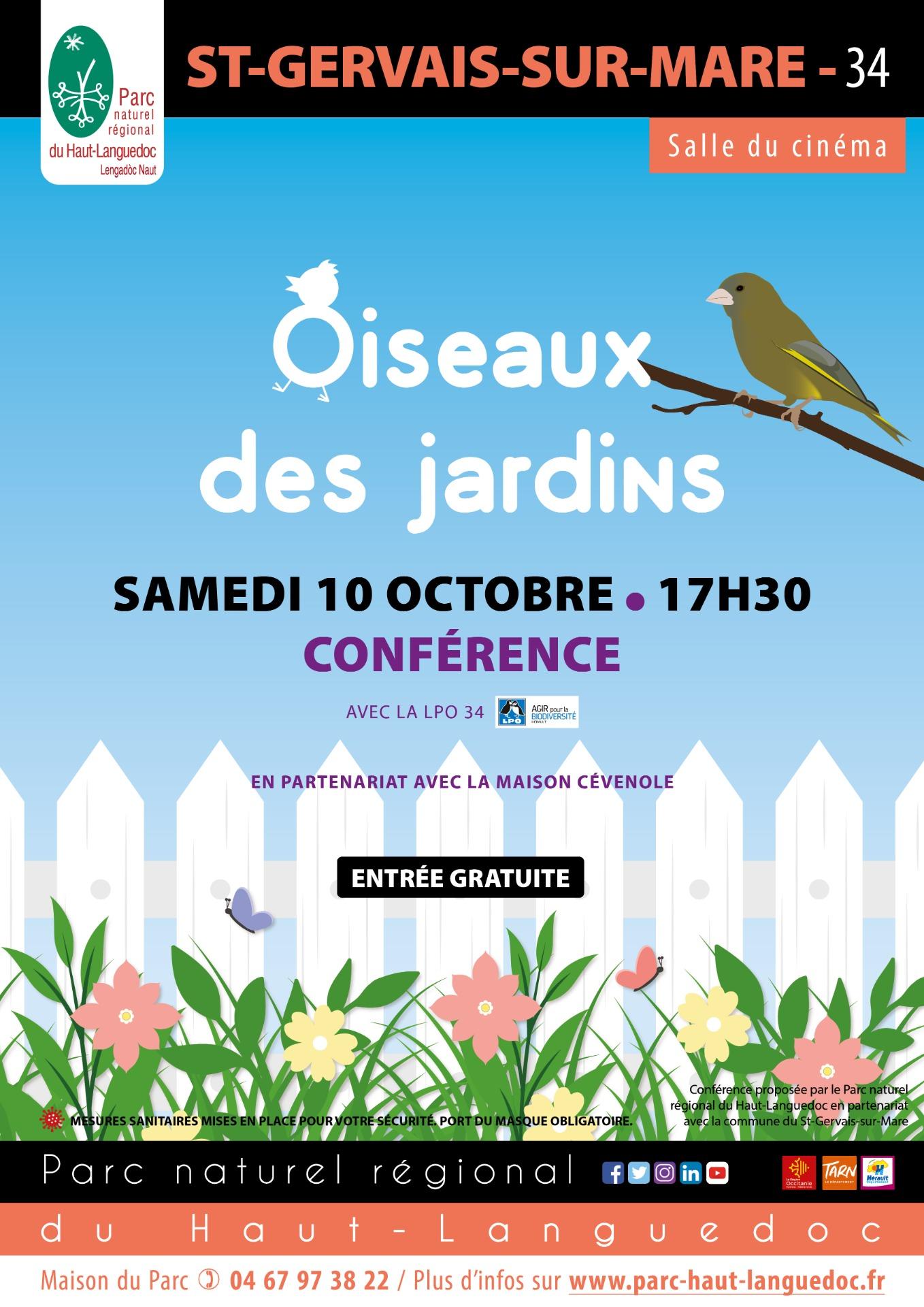 Affiche Conférence_Peuple_de_l'Ort_-_Accueillir_la_nature_au_jardin