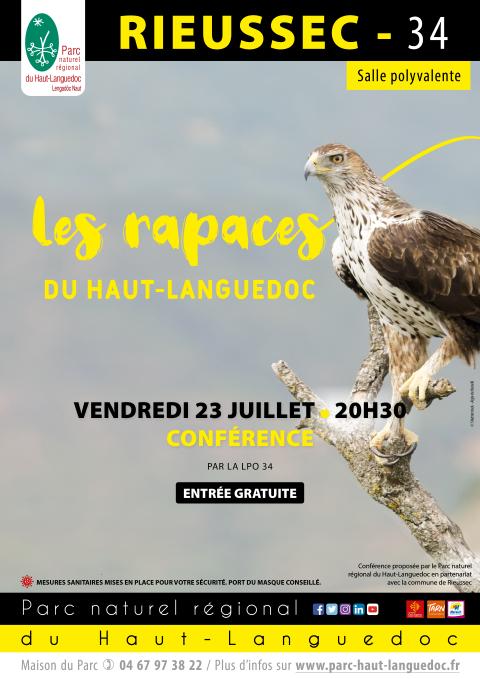 Conférence Les Rapaces du Haut Languedoc