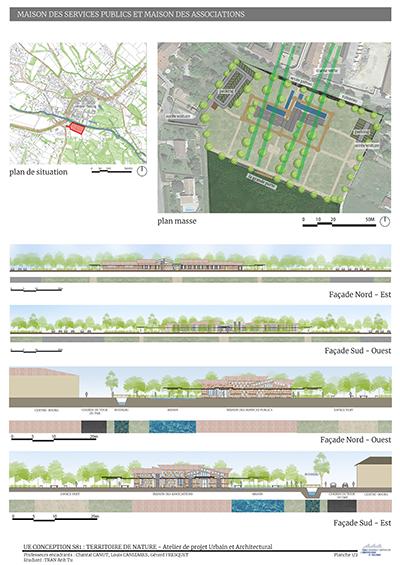 Ateliers hors les murs Sorèze 2020 - Projets architecturaux