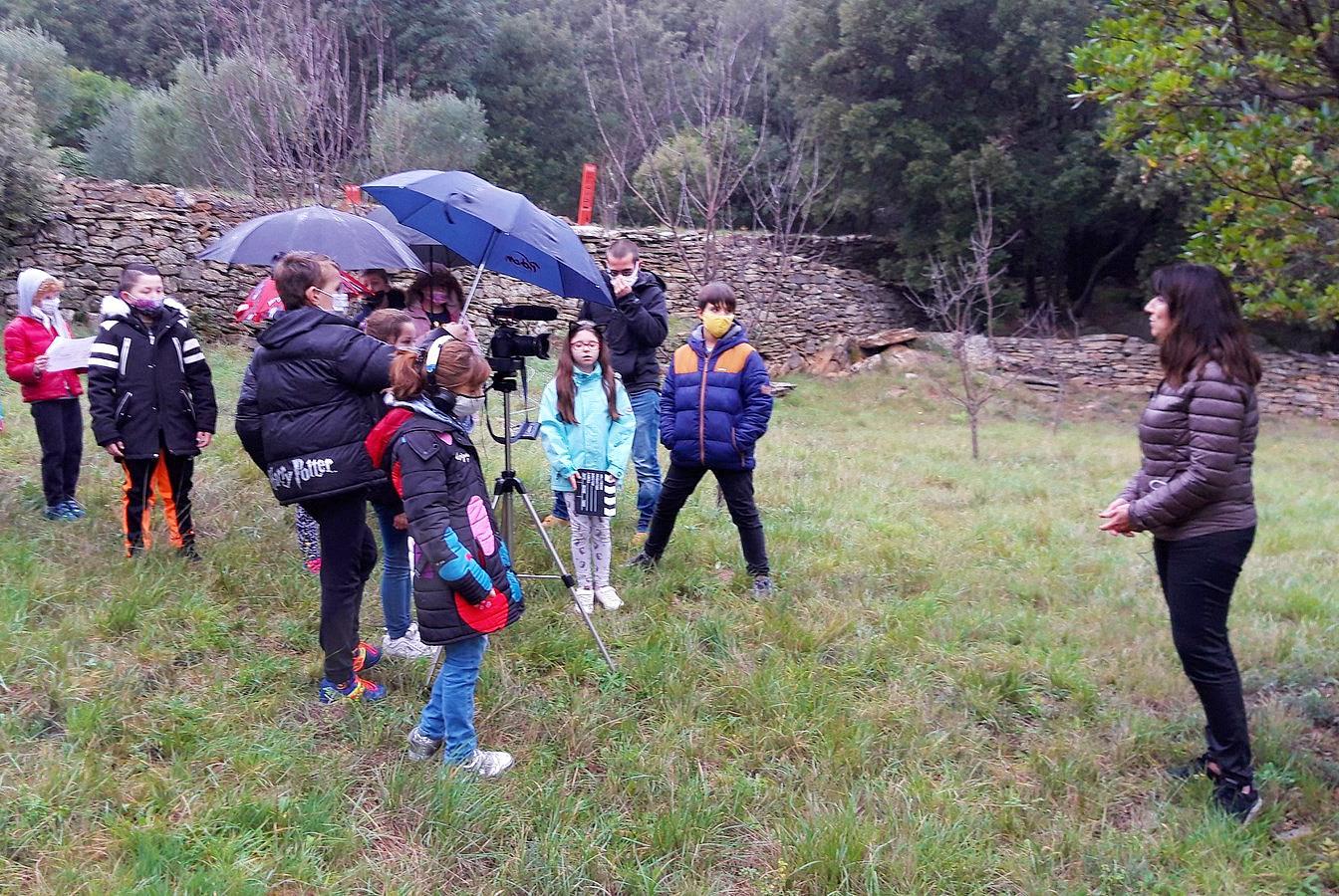 Ateliers_documentaires_paysage_-_Pierres_sèches_Faugères_2021 dans le Parc naturel régional du Haut-Languedoc